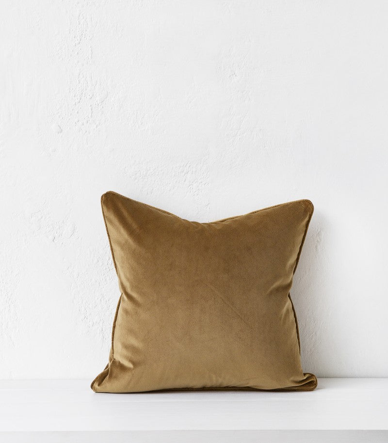 Zoe Cushion / 50x50cm / Brass