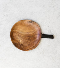 Indonesian Wooden Platter w Handle