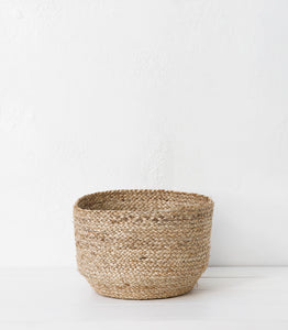 Tanzi Jute Basket / Natural / Large