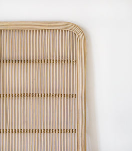 Rattan Head Board / Single
