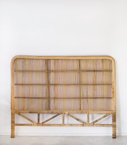 Rattan Head Board / Queen Size