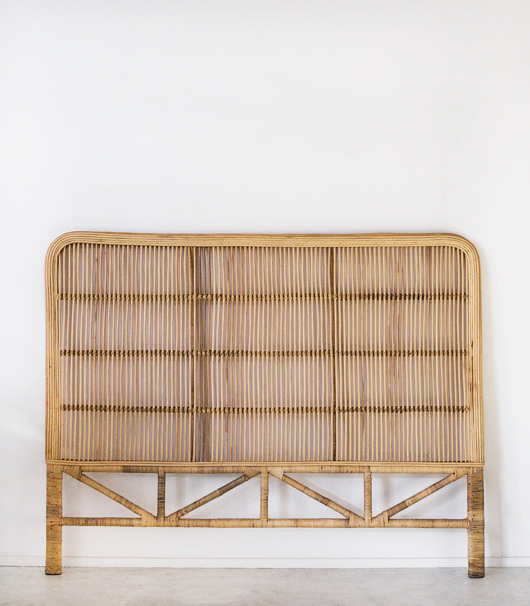 Rattan Head Board / King Size