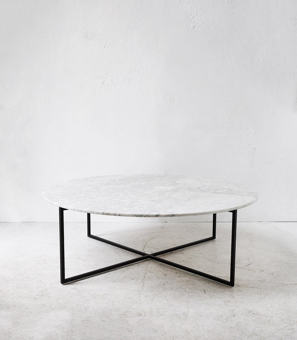 Elle Luxe Marble Coffee Table / 1090cmD