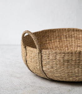 Slouch Thick Weave Basket / Large