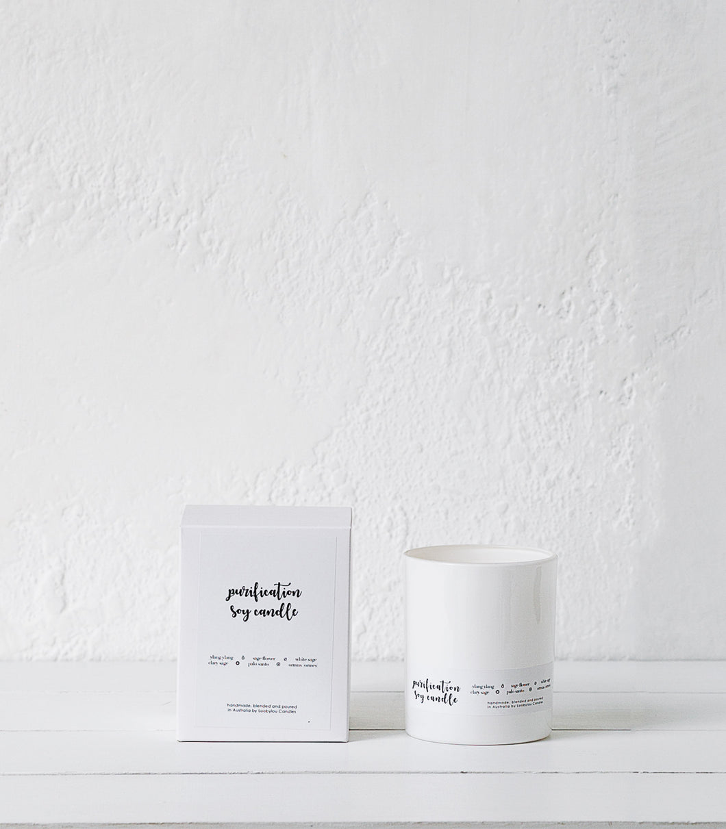 Loobylou / Purification Soy Candle