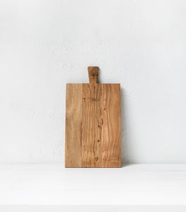 Acacia Rectangle Chopping Board / Natural / XL