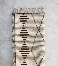 Armadillo & Co / Berber Knot Zulu Weave Rug / Natural-Shale / 1.7x2.4M