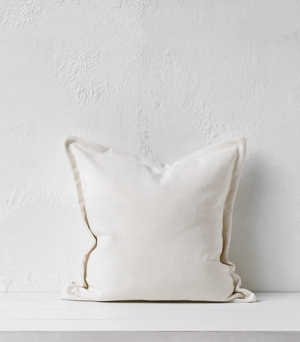 Austin Cushion / Ivory / 50x50cm / Feather Inner