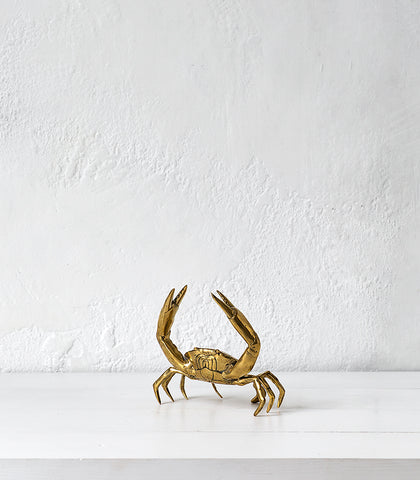 Brass Crab / Large