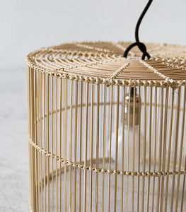 Corfu Rattan Lampshade / Natural
