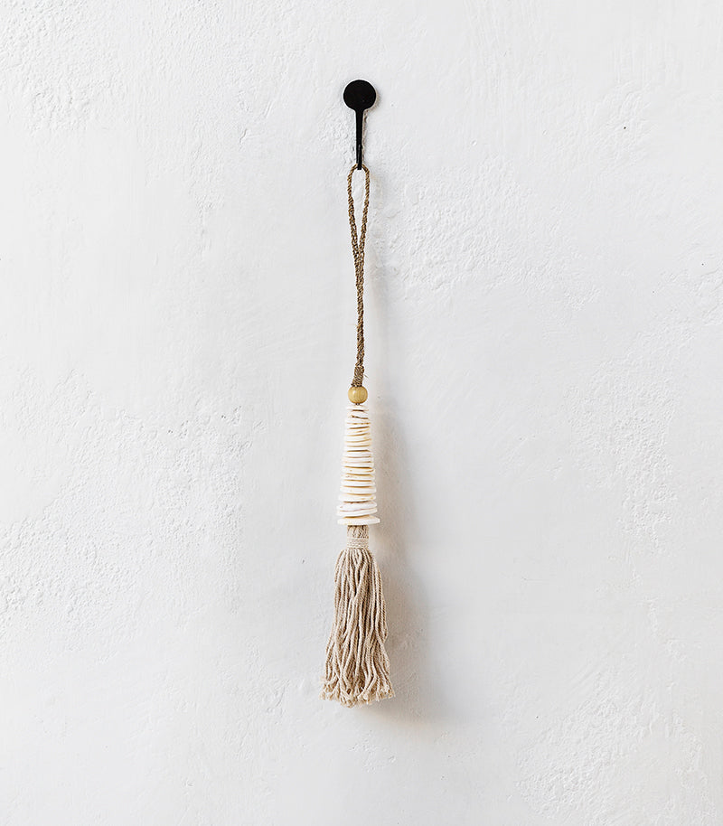 Disc Shell Tassel