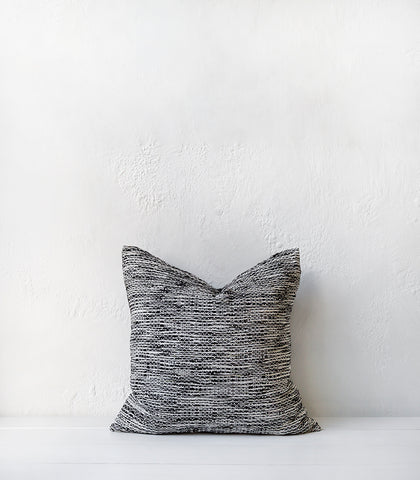 'Dream Weaver' Cushion / 55x55cm / Black