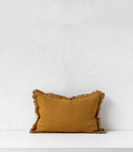 Elitis Karma Cushion / Honey / Small