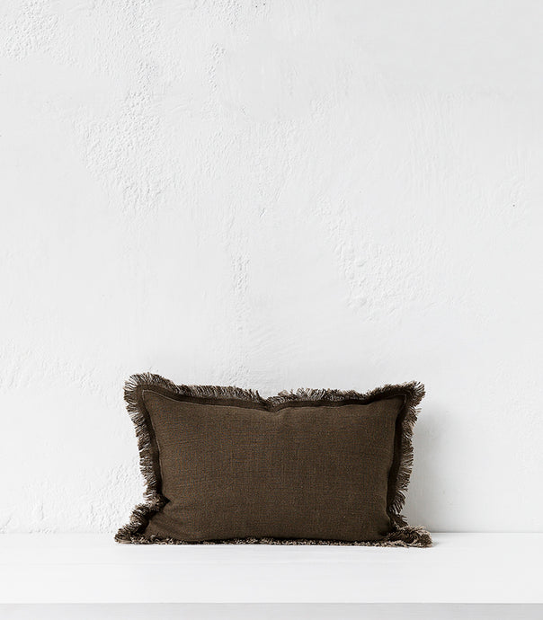Elitis Karma Cushion / Khaki