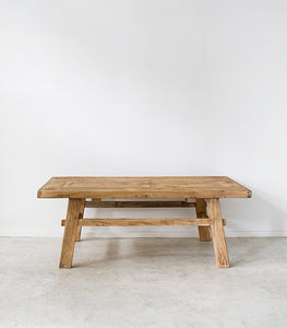 Elmwood Coffee Table / 120x70cm / Natural