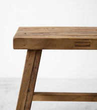 Elmwood Peasant Stool