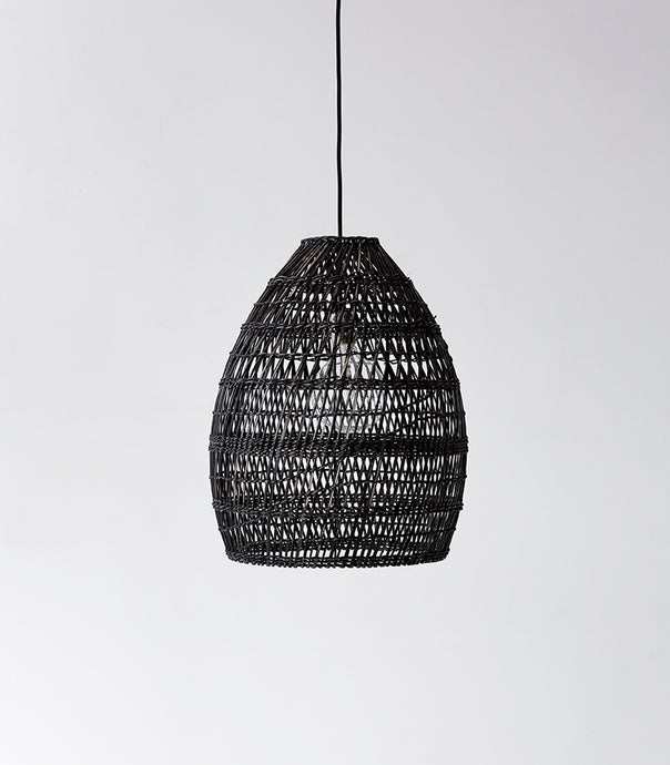 Firth Lampshade / Small / Black Wash