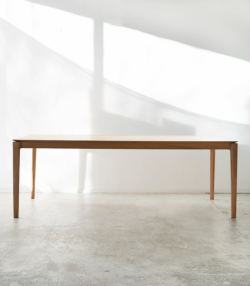 French Oak Dining Table / Natural / 220cm x 95cm