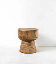 Hardwood Side Table Stump