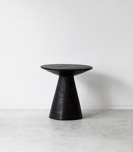Indo Cone Side Table / Black