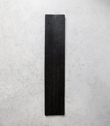 Indonesian Blackened Wood Long Platter / 100cm