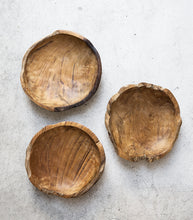 Indonesian Natural Wooden Bowl
