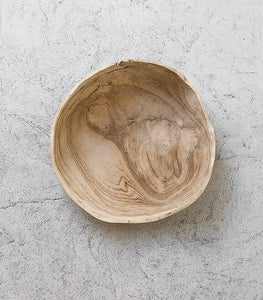 Indonesian Random Shaped Blonded Bowl
