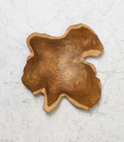 Indonesian Random Shaped Platter / Natural