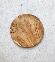 Indonesian Wooden Plate / 30cmD