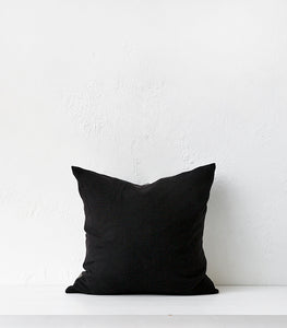 'Meandios' Cushion w Feather Inner / Grey-Nat / 55x55cm