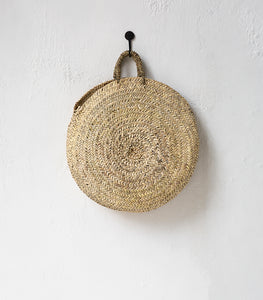 Moroccan Round Woven Bag