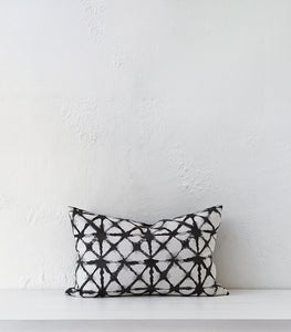 'Mosaic' Cushion w Feather Inner / 60x40cm