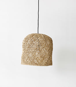 'Mykonos' Open Weave Lampshade /  Natural / Large
