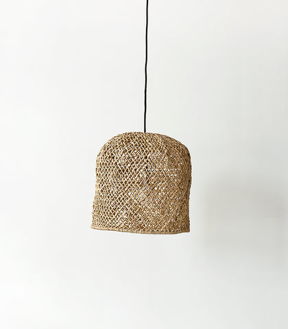 'Mykonos' Open Weave Lampshade /  Natural / Medium