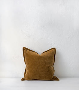 Nova Cushion w Feather Inner / 50x50cm / Spice