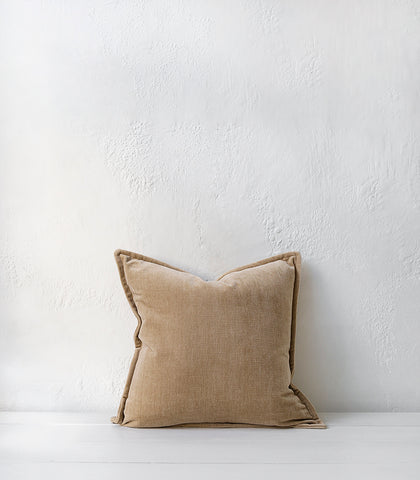 Nova Cushion w Feather Inner / 50x50cm / Tapioca