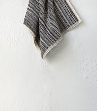 Ottoloom / Moscow Organic Face Cloth / Grey Stripe