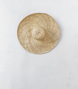 Pandan Leaf Sun Hat / Natural