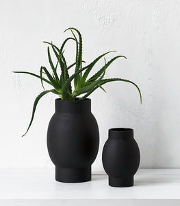 Papaya / Arena Vase Black / Large