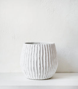 Papaya / 'Boracay' Ceramic Planter / Large