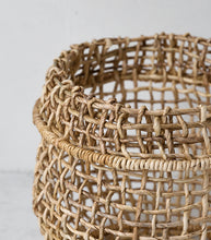 Papaya / Cicely Woven Basket / Small
