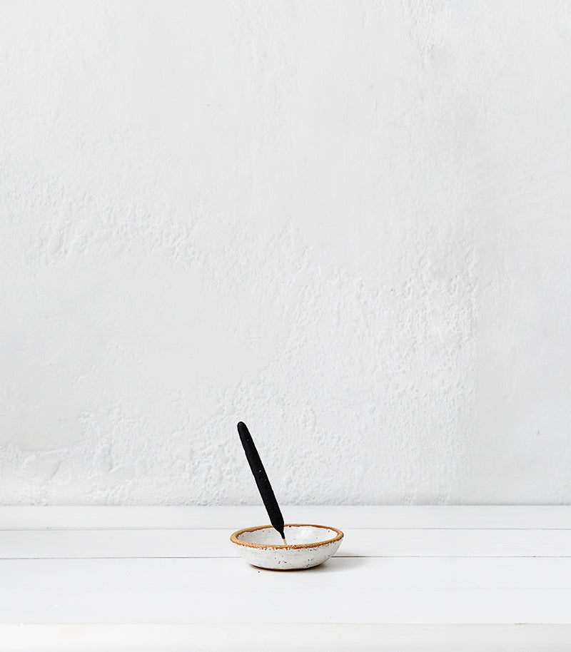 Incense Holder / Piker White