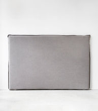 'Bondi' Slipcover Headboard / Queen / Charcoal