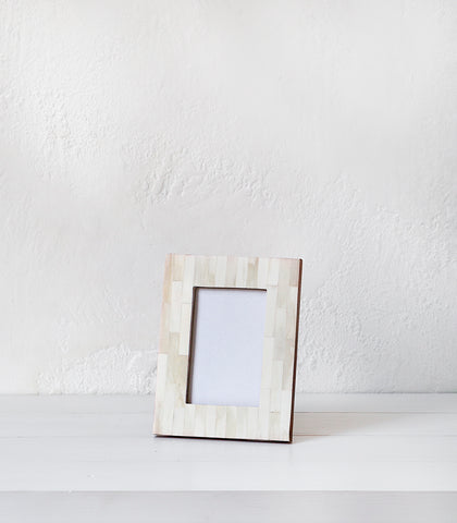 Indian Bone Photo Frame / 10x15cm