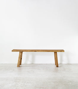 Elmwood Peasant Bench / 150cm Long