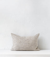 'Puna' Cushion w Feather Inner / 60x40cm / Pumice