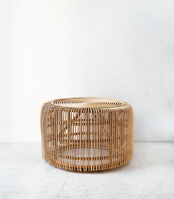 Rattan Table / 80cmD