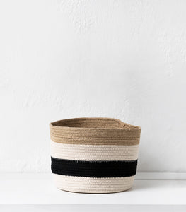 Redondo Jute/Cotton Basket / Large
