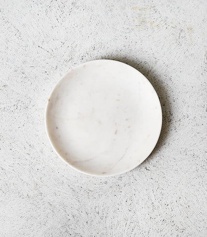 Round Marble Dish / 20cmD / Small