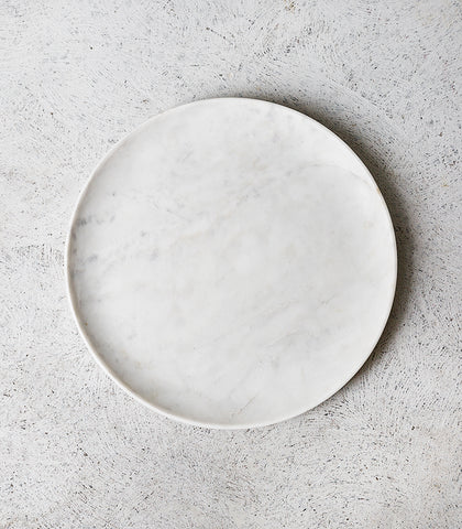 Round Marble Dish / 30cmD / Large